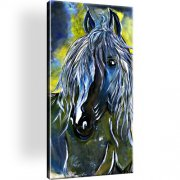 Pferd Tiere Wandbild