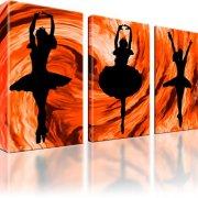 Frau Ballet Tanz Wandbild