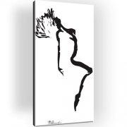 Erotik Abstrakt Bild auf Leinwand