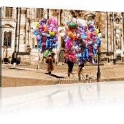 Dresden Luftballonen Kunstdruck