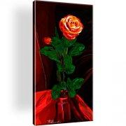 Rose Blume Wandbild