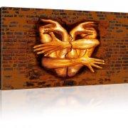 Hände Wand Bild auf Leinwand