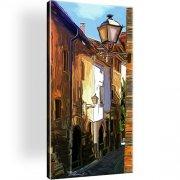Straße Spanien Stadt Wandbild
