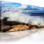 Landschaft Ozean Kunstdruck