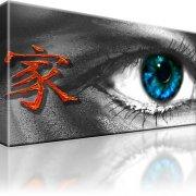 Auge Abstrakt Kunstdruck