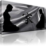 Feng Schui Abstrakt Leinwandbild 1-Teilig: 100x55 cm