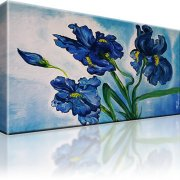 Blume Iris Kunstdruck