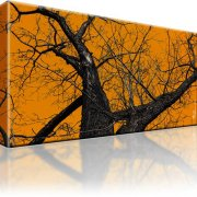 Baum Wandbild auf Leinwand