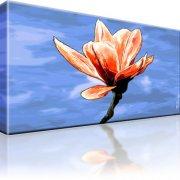 Magnolie Blume Leinwandbild