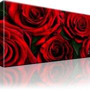 Rosen Blumen Wandbild