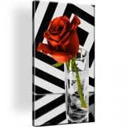 Rose Glass Vodka Smirnoff Leinwandbild