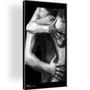 Erotik Wandbild auf Leinwand