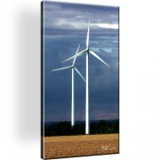 Windmühle Horizont Wiese Wandbild