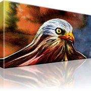 Adler Vogel Kunstdruck