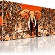 Elefant Afrika Wandbild