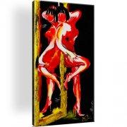 Erotik Abstrakt Wandbild