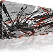 Abstrakt Bild auf Leinwand
