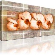 Orchideen Blumen Kunst Leinwandbild