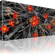 Lilien Blumen Wandbild