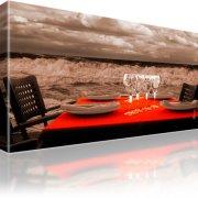 Tisch Ocean Landschaft  Leinwandbild