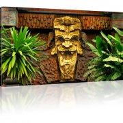 Maya Relief Bild auf Leinwand