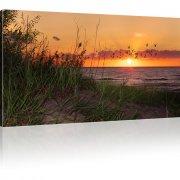 Sonnenuntergang Bild auf Leinwand