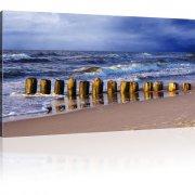 Strand Wandbild