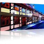 Viertel in der Altstadt als Kunstdruck