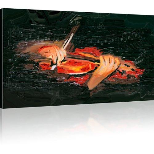 Geige Wandbild