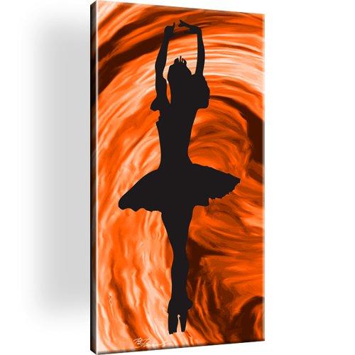 Frau Ballet Tanz Bild auf Leinwand
