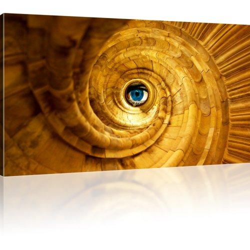 Abstrakt Auge Bild auf Leinwand