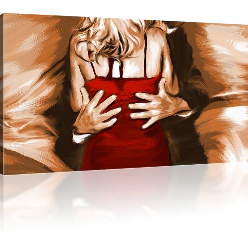 Mann und Frau: Der Tanz Wandbild