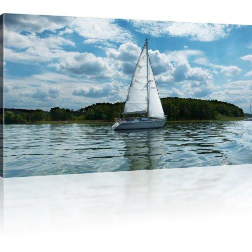 Kleines Segelschiff Wandbild