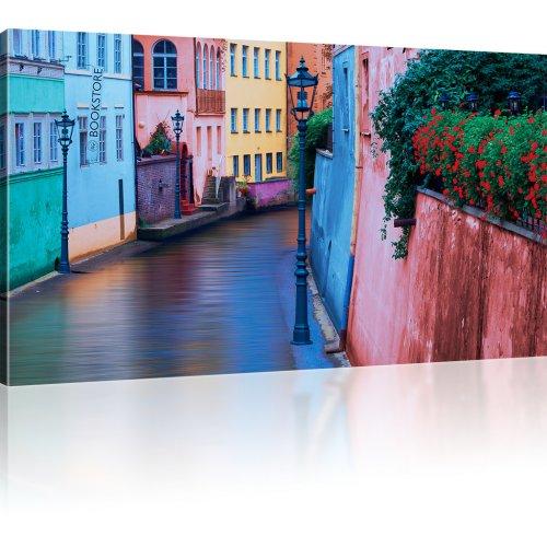 Straßenlaterne Wandbild