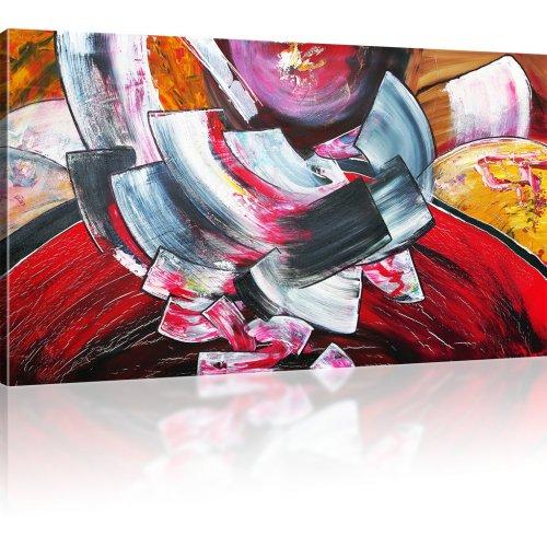 Abstraktion Wandbild auf Leinwand