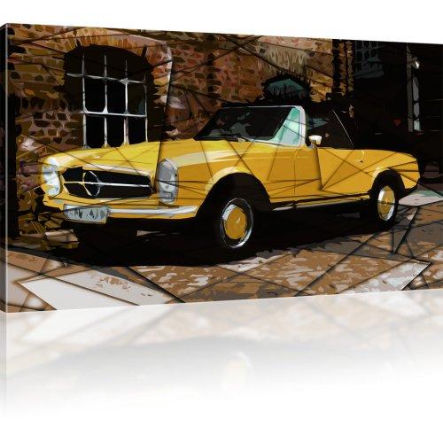 Oldtimer Auto als Kunstdruck