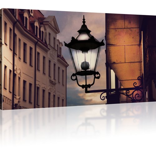 Laterne in der Altstadt als Kunstdruck
