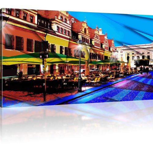 Altstadt-Café als Kunstdruck