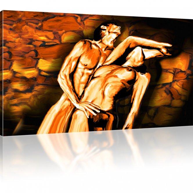 Erotik Bild auf Leinwand
