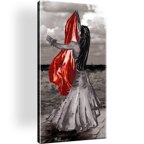 Frau Tanz Wandbild