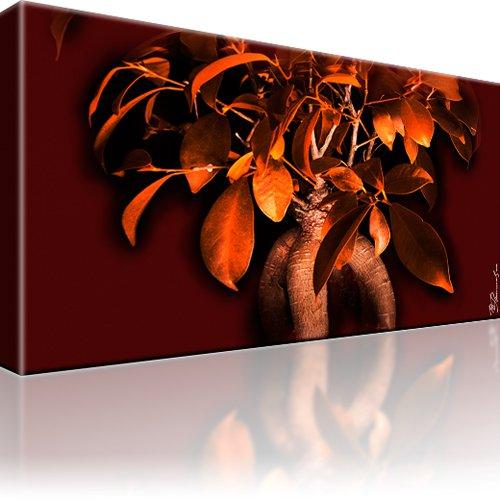 Bonsai Baum Bild auf Leinwand