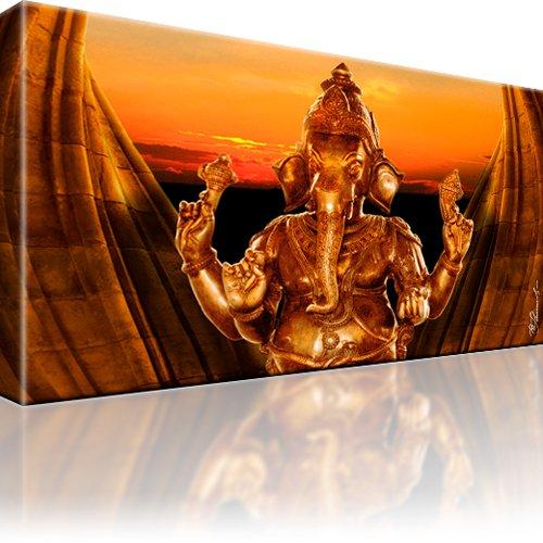 Ganesha Indien Leinwandbild