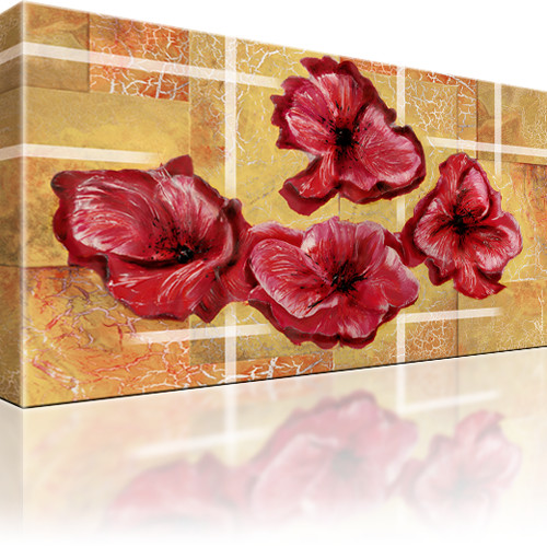 Mohnblume Blume Wandbild
