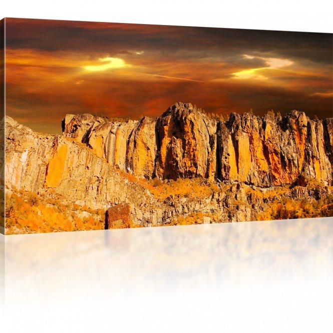 Felsen Landschaft Leinwandbild