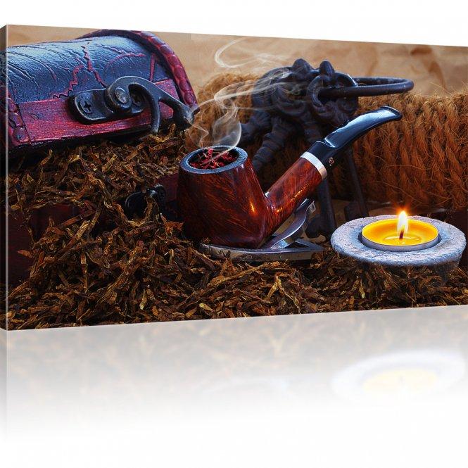 Tabakpfeife Wandbild