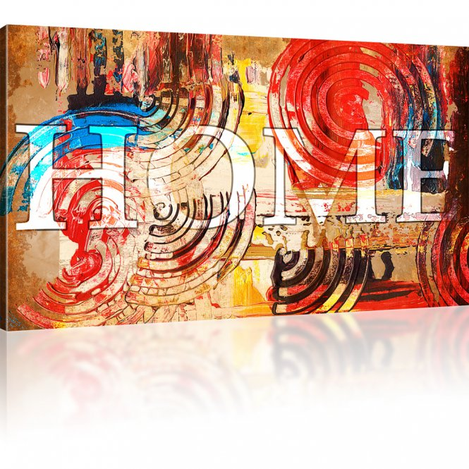 Home Abstraktes Wandbild