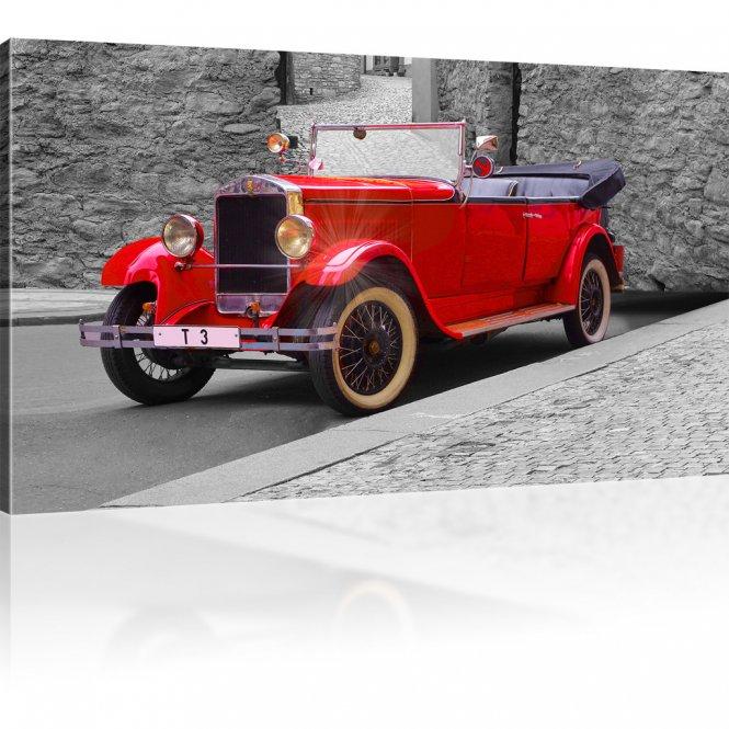 Oldtimer Auto Wandbild