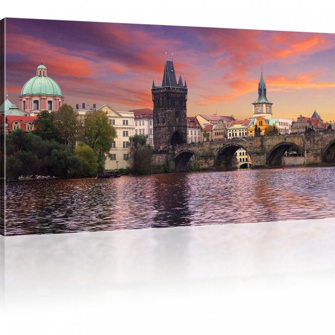 Karlsbrücke Bild auf Leinwand