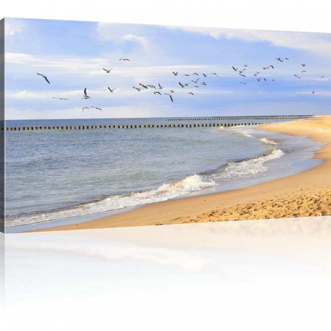 Strand Leinwandbild